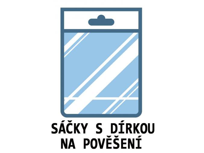 PP POLYPROPYLENOVE OPP CELOFANOVE SACKY DIRKOU POVESENI