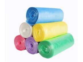 barevne pytle na odpad