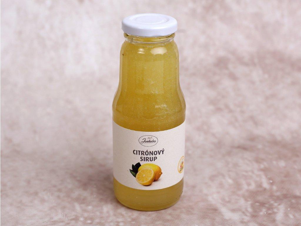 citronový sirup
