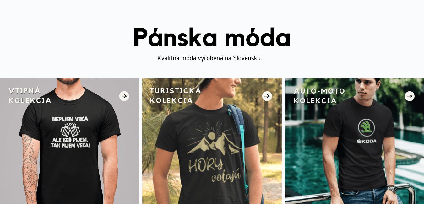 Pánske tričká na Superpotlac.sk