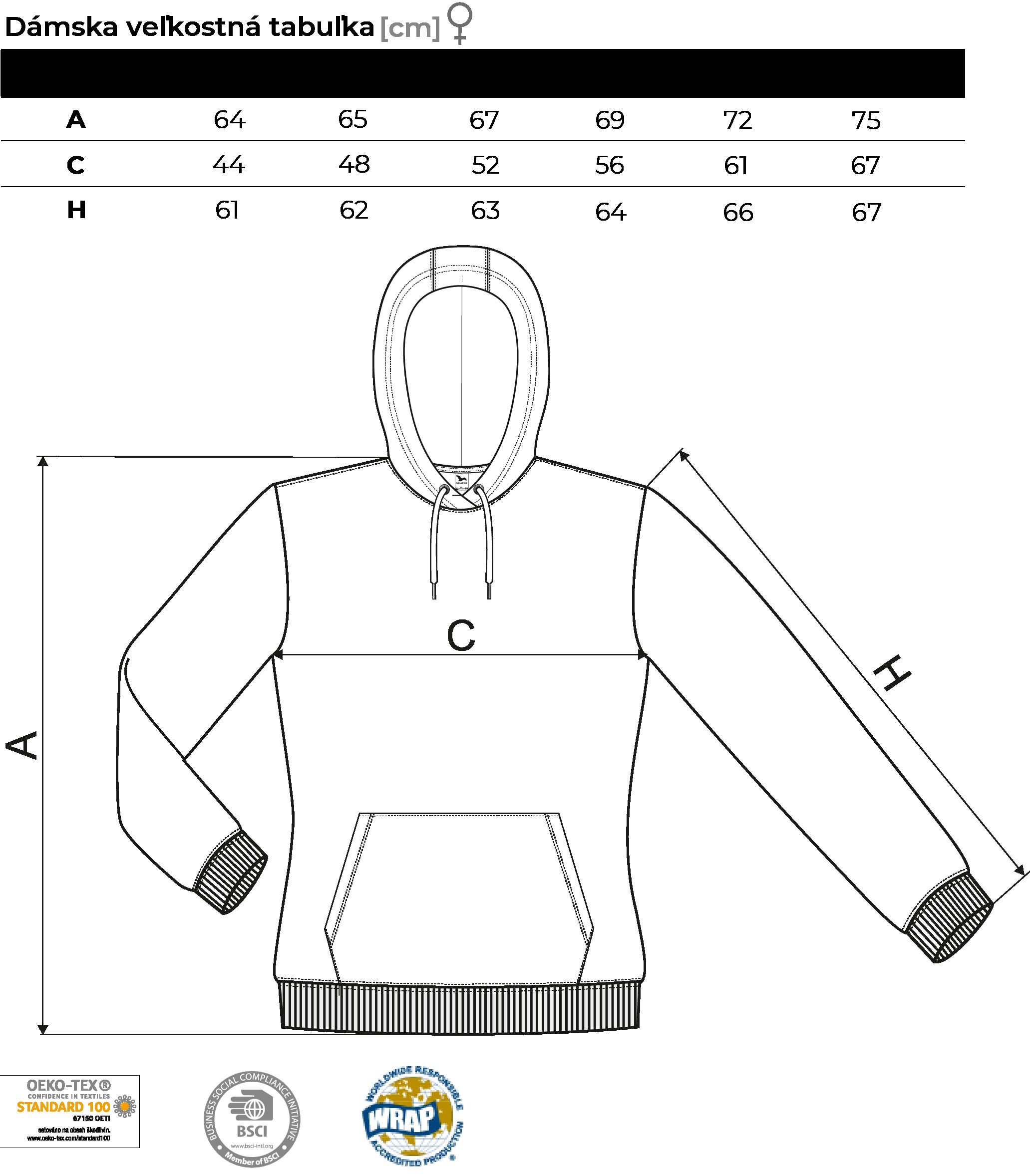 damska size chart mikina-01