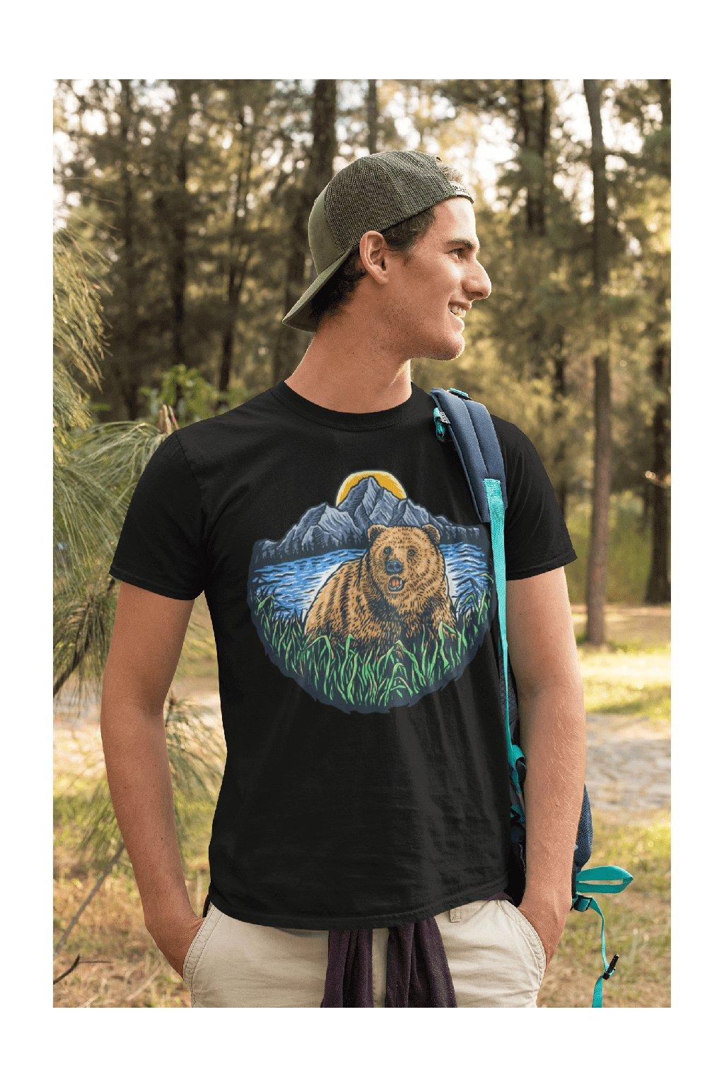Pánske outdoorové tričko bear