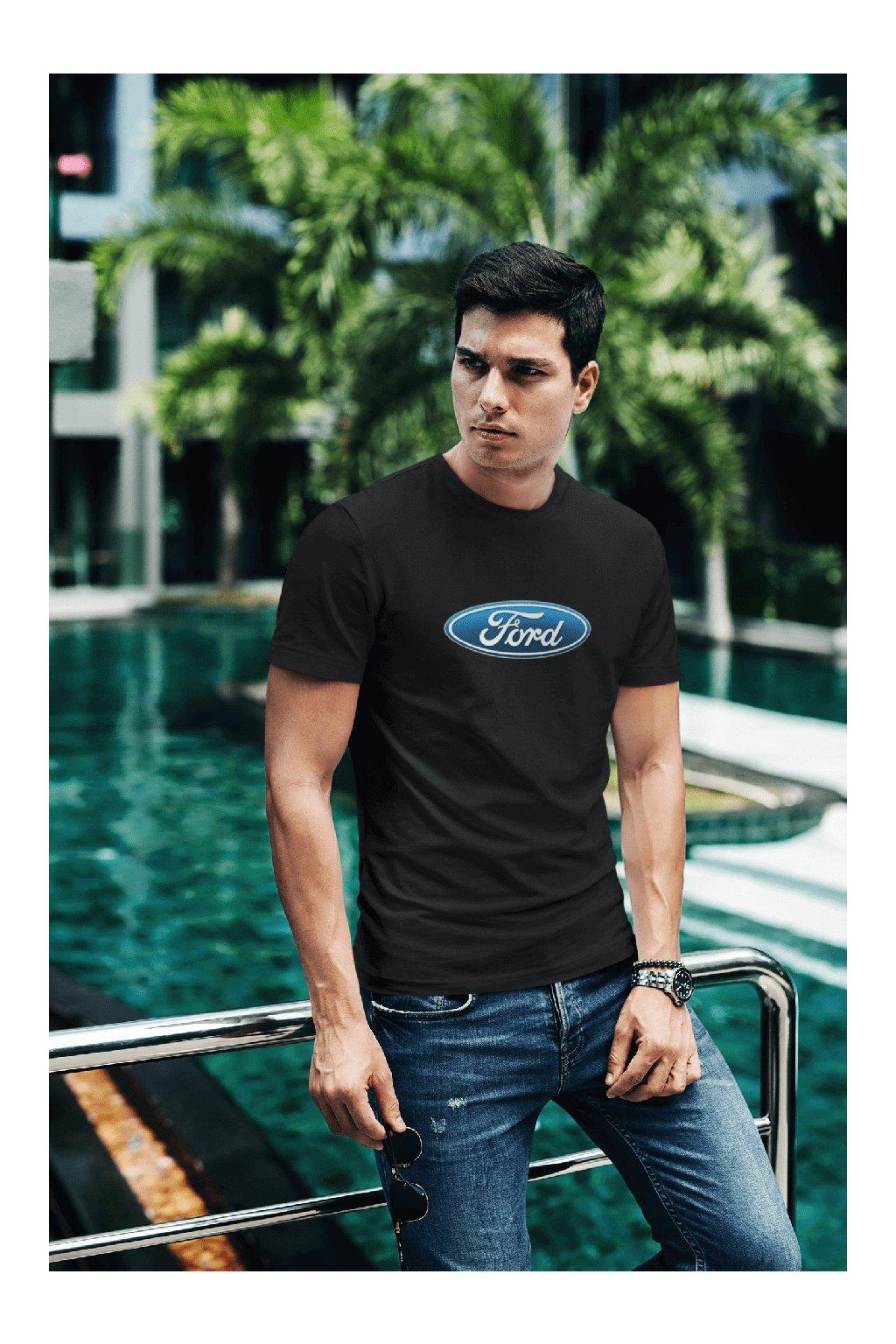 Tričko s logom auta Ford