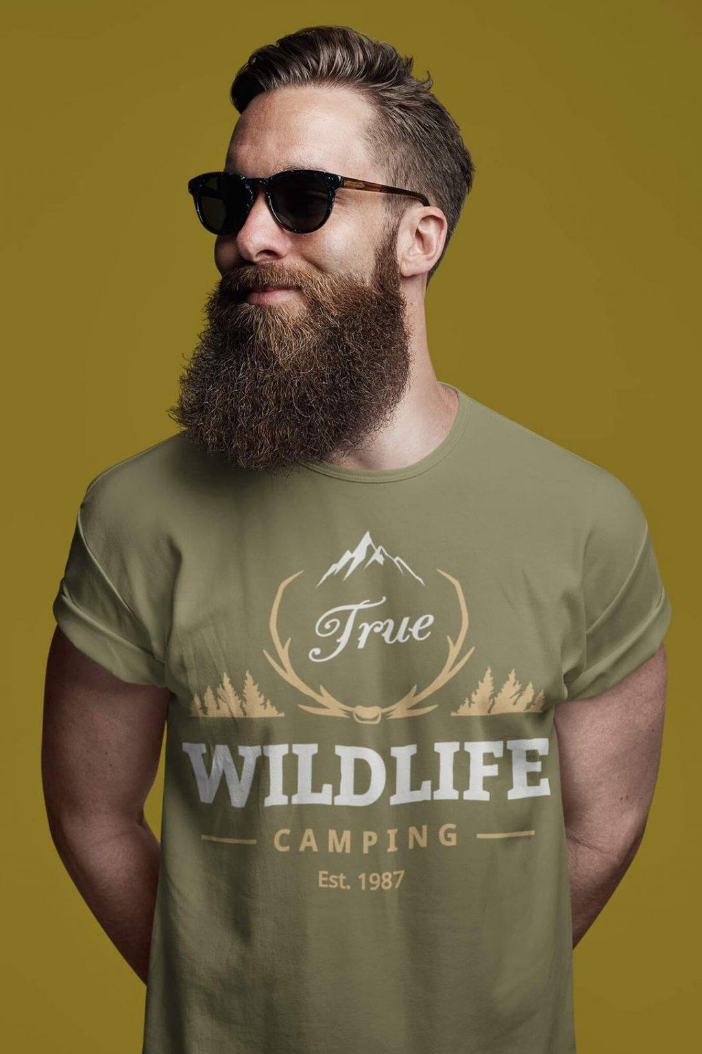 Pánske outdoorové tričko Wildlife