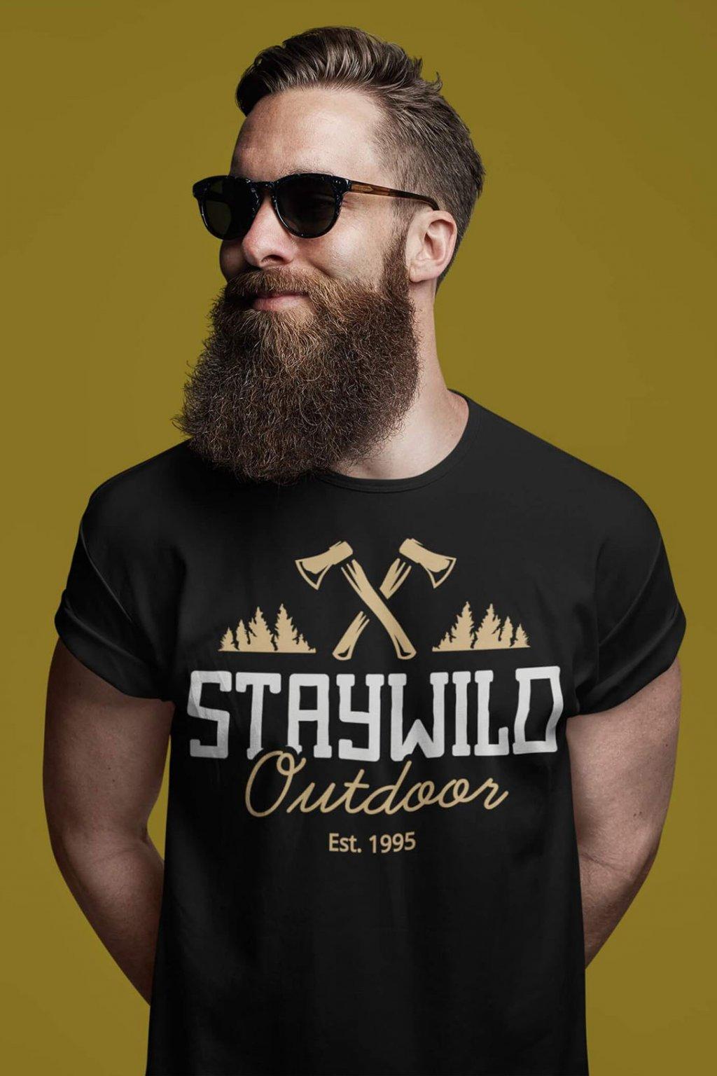 Pánske outdoorové tričko Staywild