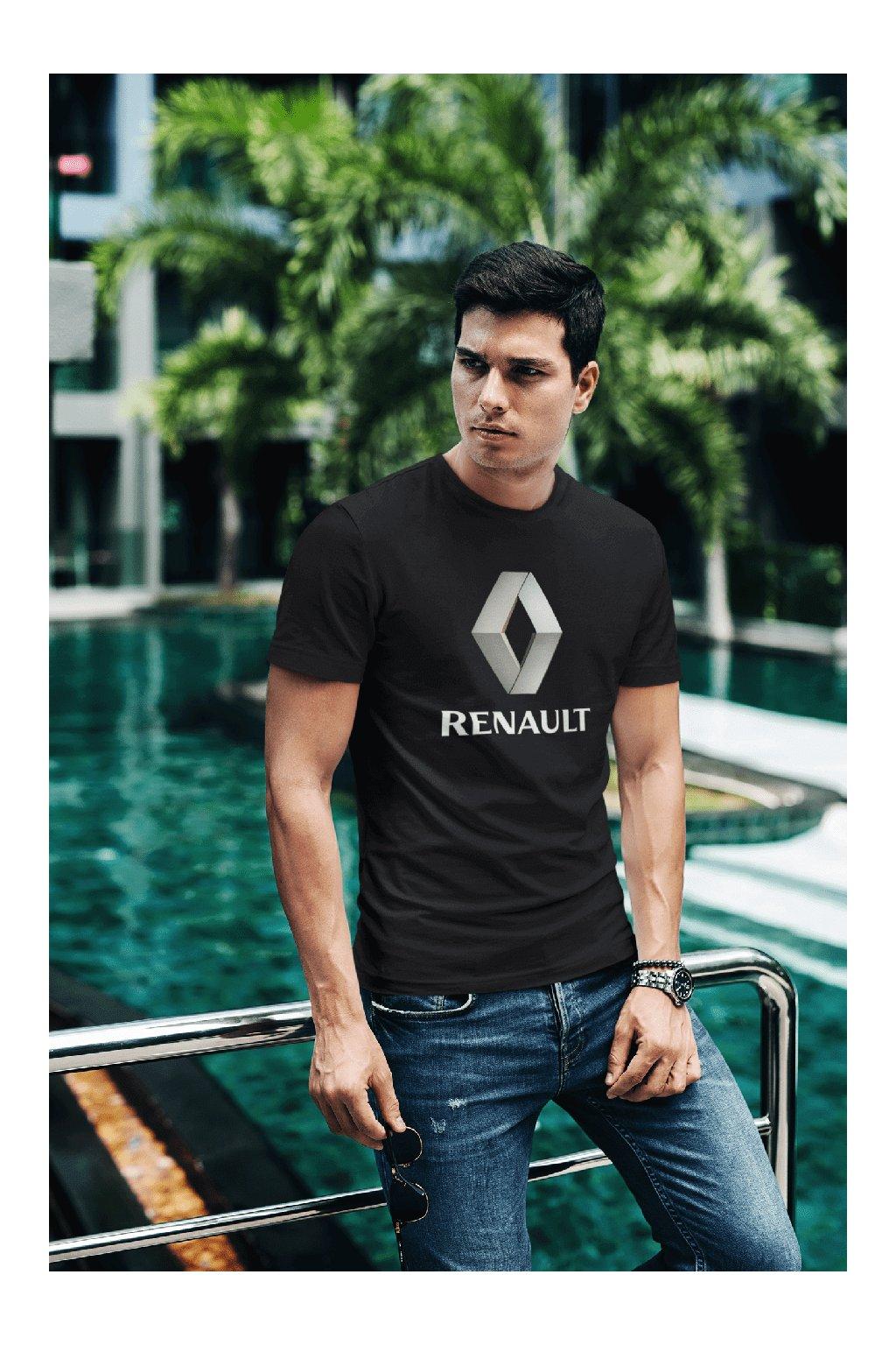 Tričko s logom auta Renault