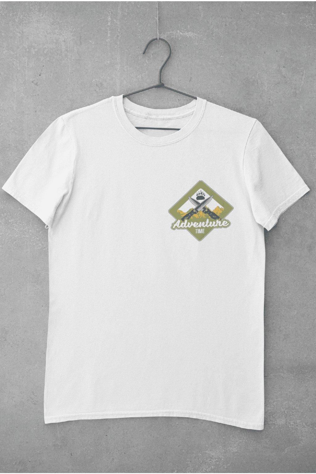 Pánske outdoorové tričko adventure time