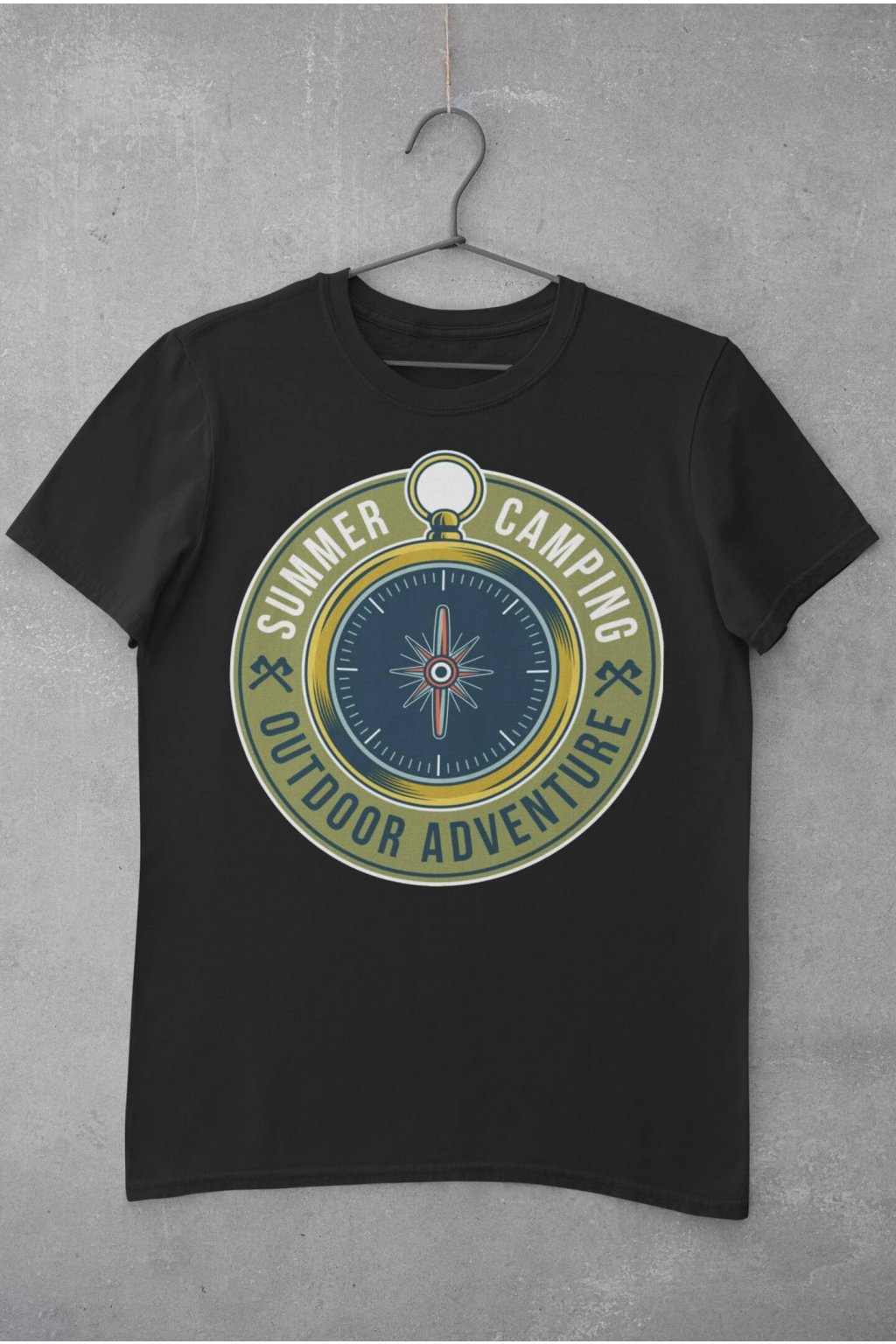 Pánske outdoorové tričko Kompas