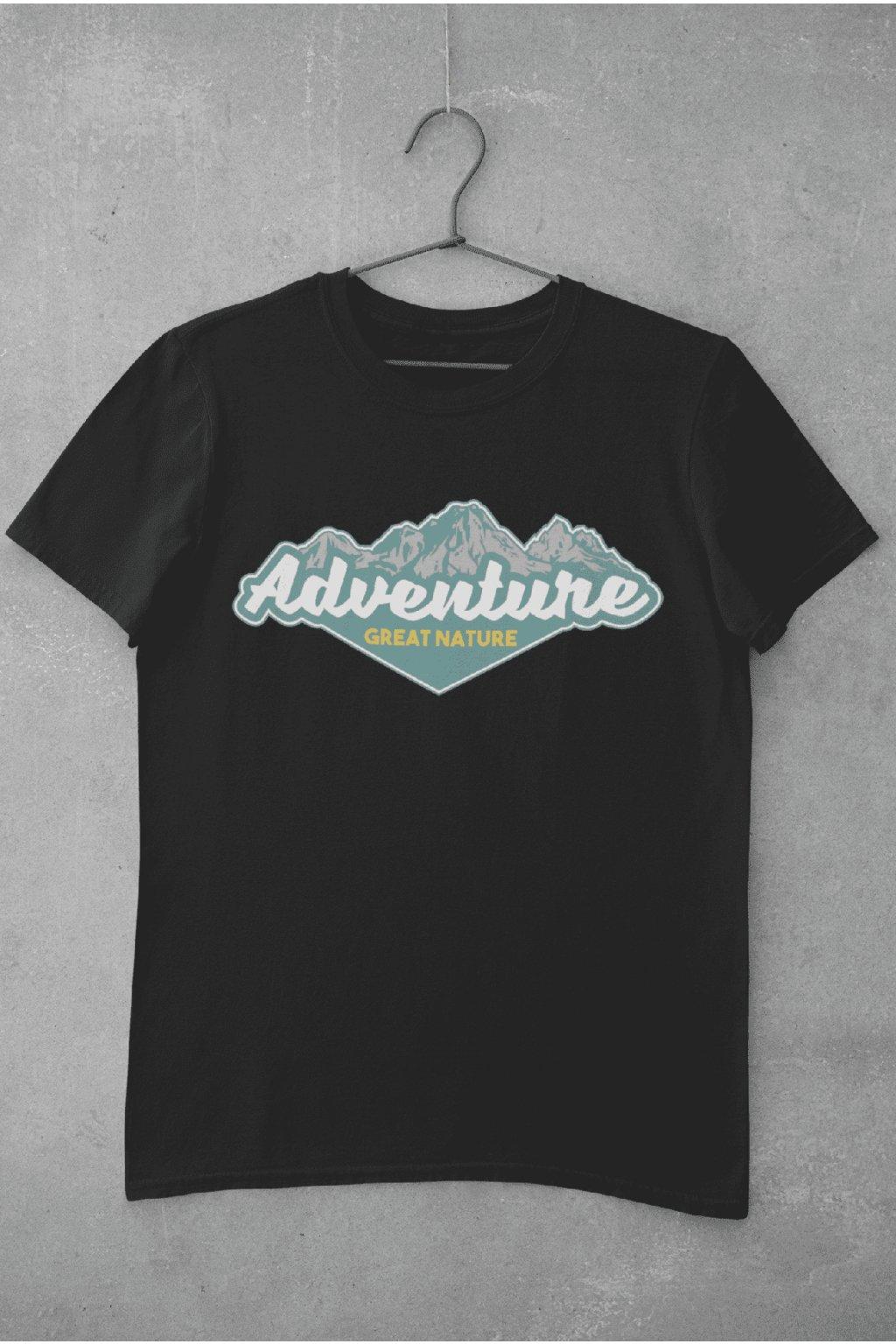 Pánske outdoorové tričko Nature