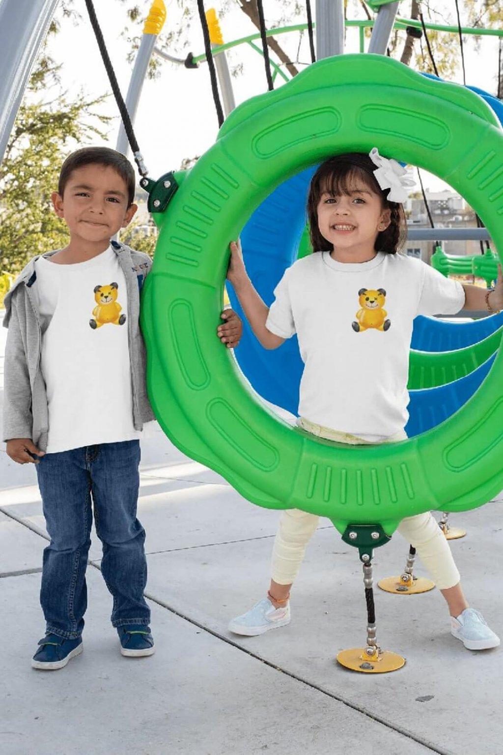 Detské tričko Dobojovaný medvedík