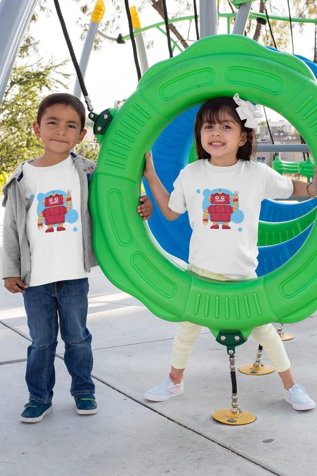 Detské tričko Robot