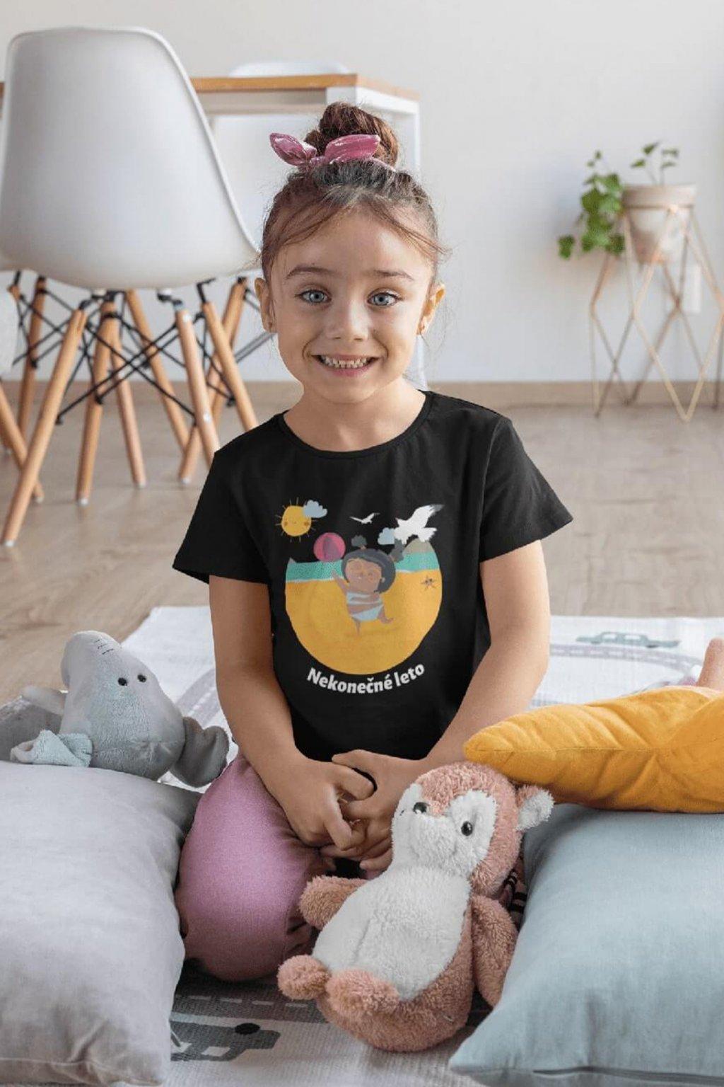 Dievčenské tričko Nekonečné leto