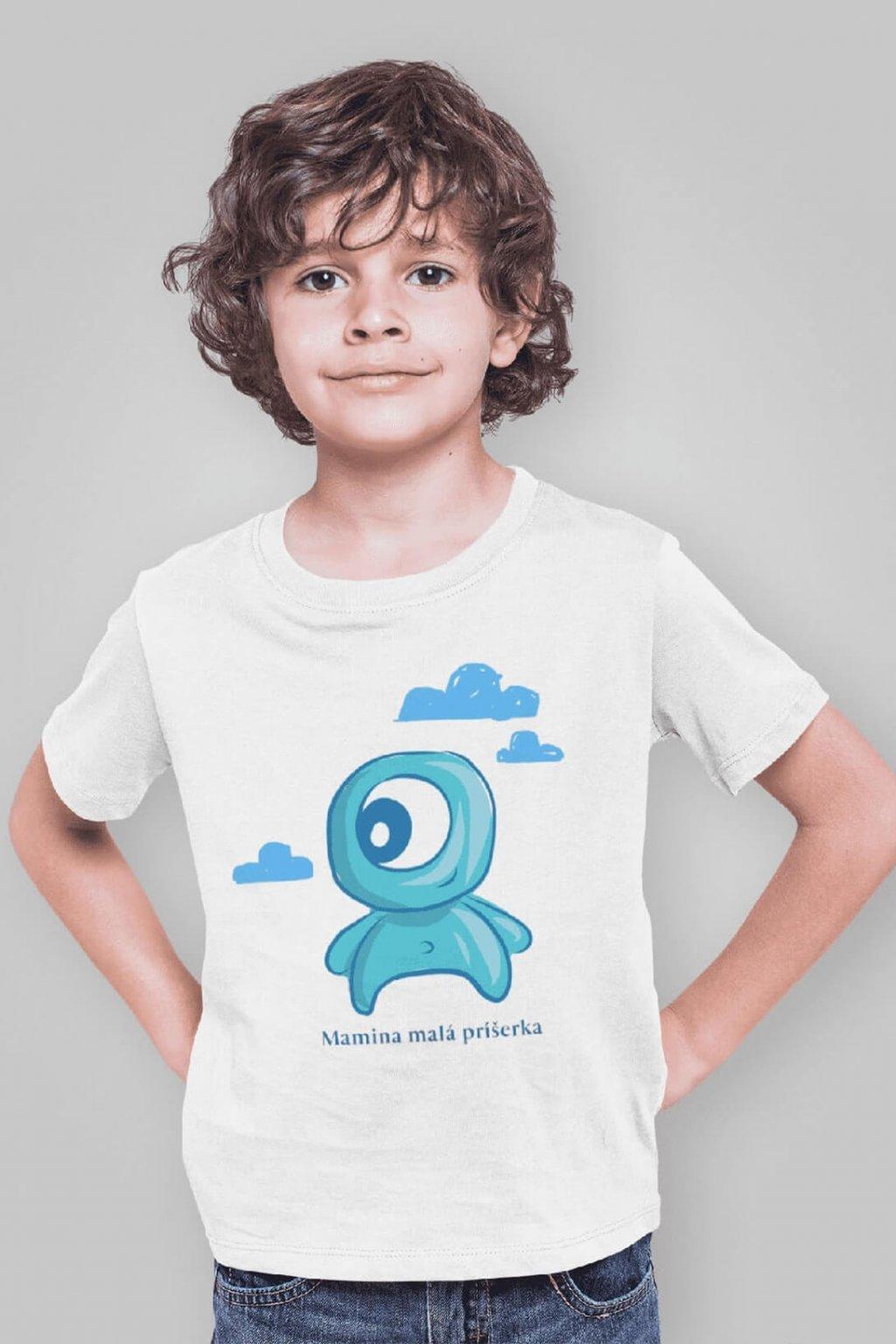 Chlapčenské tričko Mamina malá príšerka