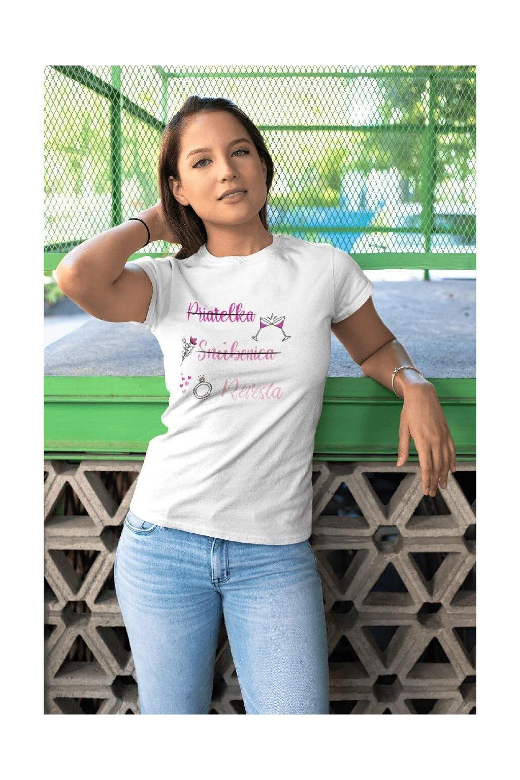 Dámske tričko Priateľka
