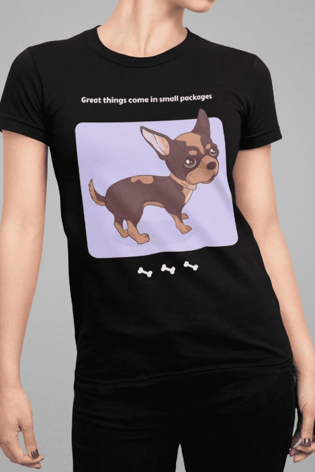 Dámske tričko Great things