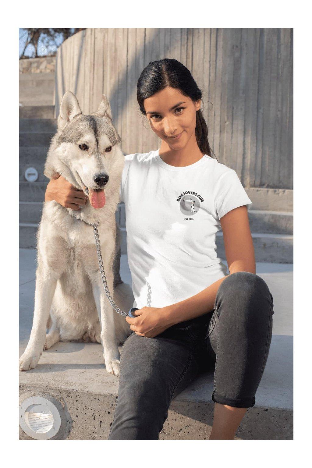 Dámske tričko Dog lovers club