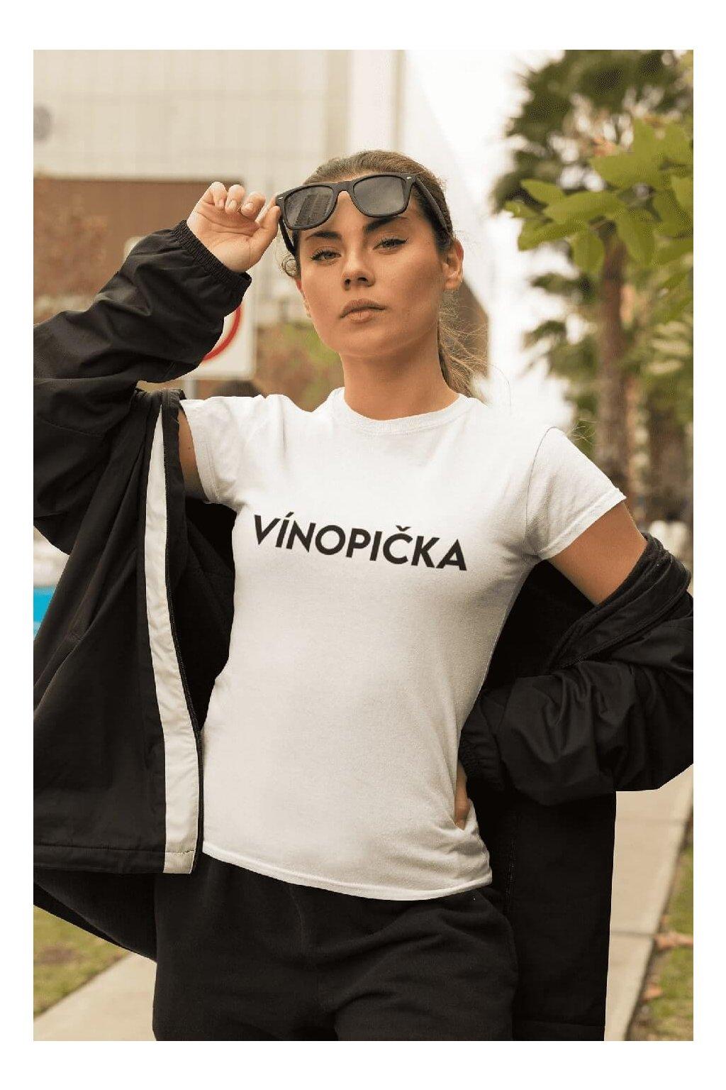 Dámske tričko Vínopička