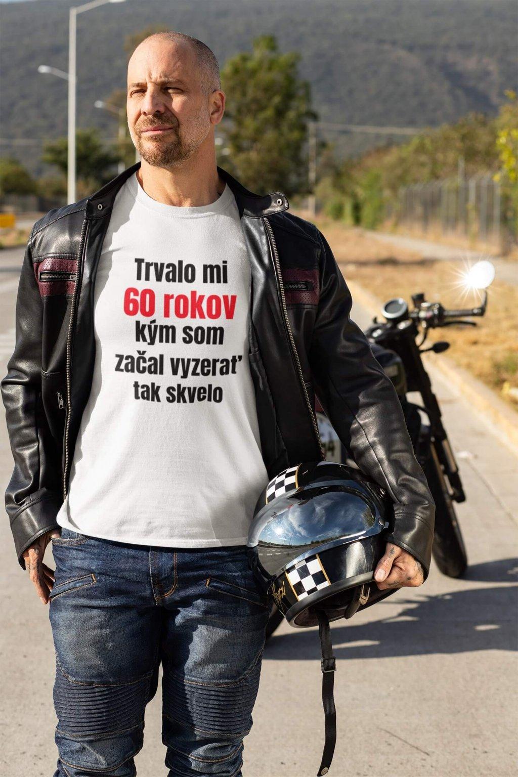 Pánske narodeninové tričko 60 rokov