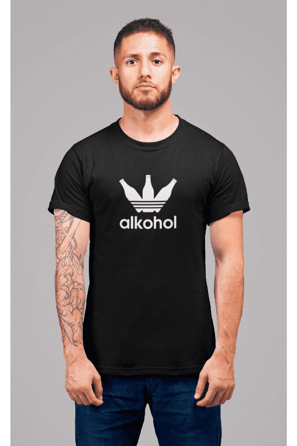 Pánske tričko s Flaškami