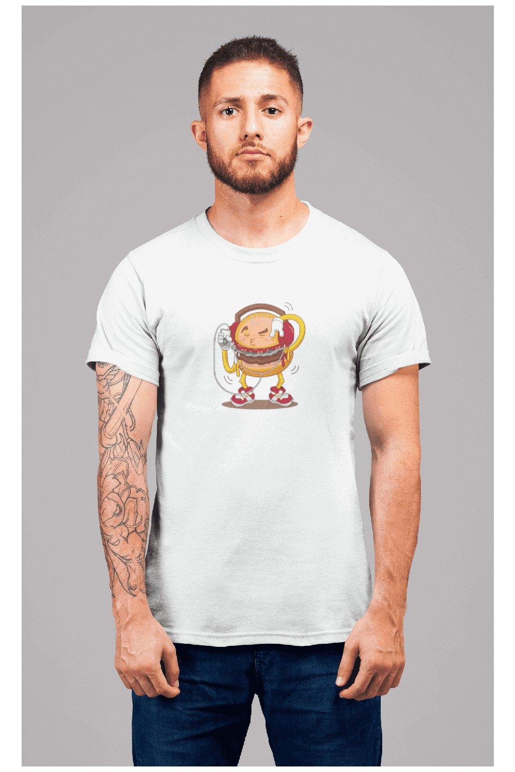 Pánske tričko Hamburger