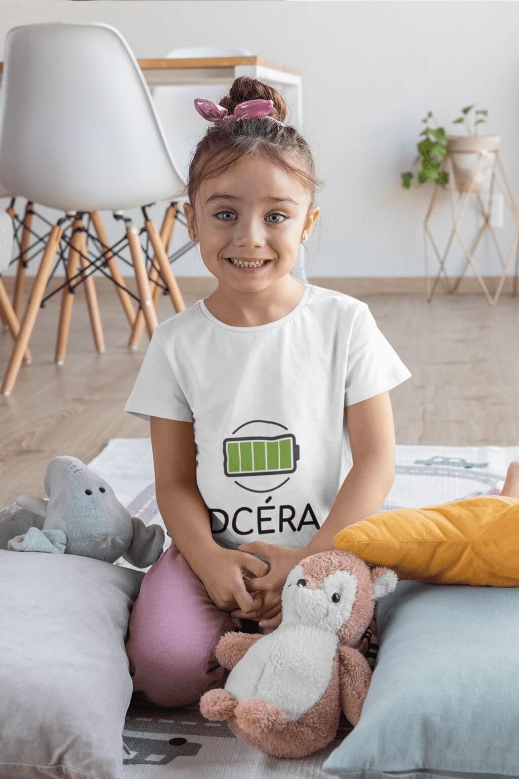 Tričko pre dcéru baterka