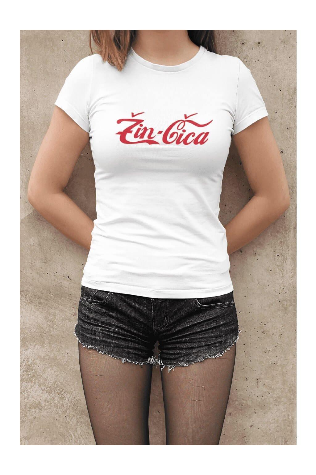 Dámske tričko Žin-Čica