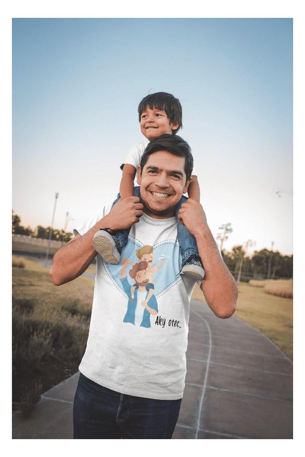 Pánske tričko pre otca Aký otec taký syn