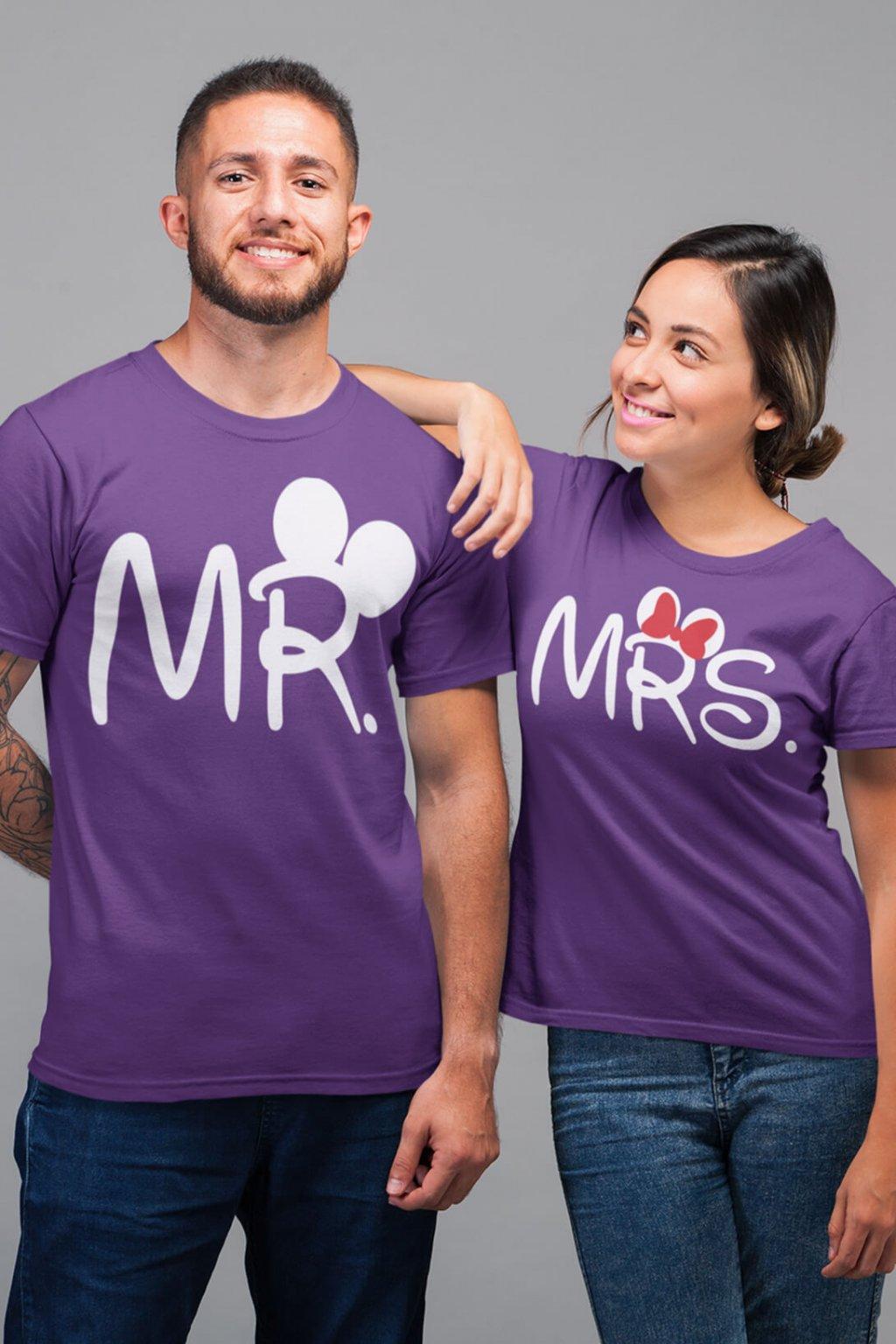 Tričká pre páry MR a MRS