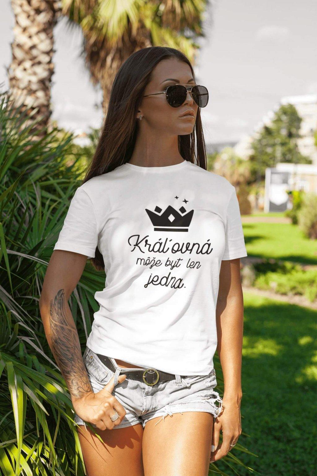 Dámske tričko Kráľovná