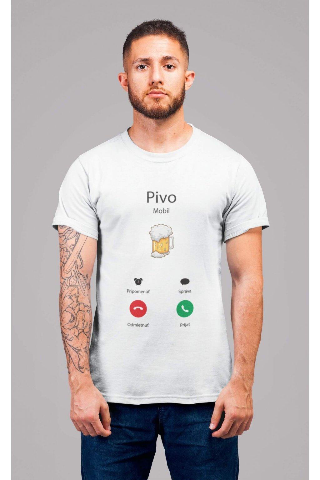 Pánske tričko Volá