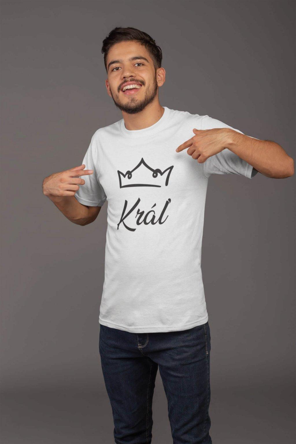 Pánske tričko pre otca Kráľovská rodina