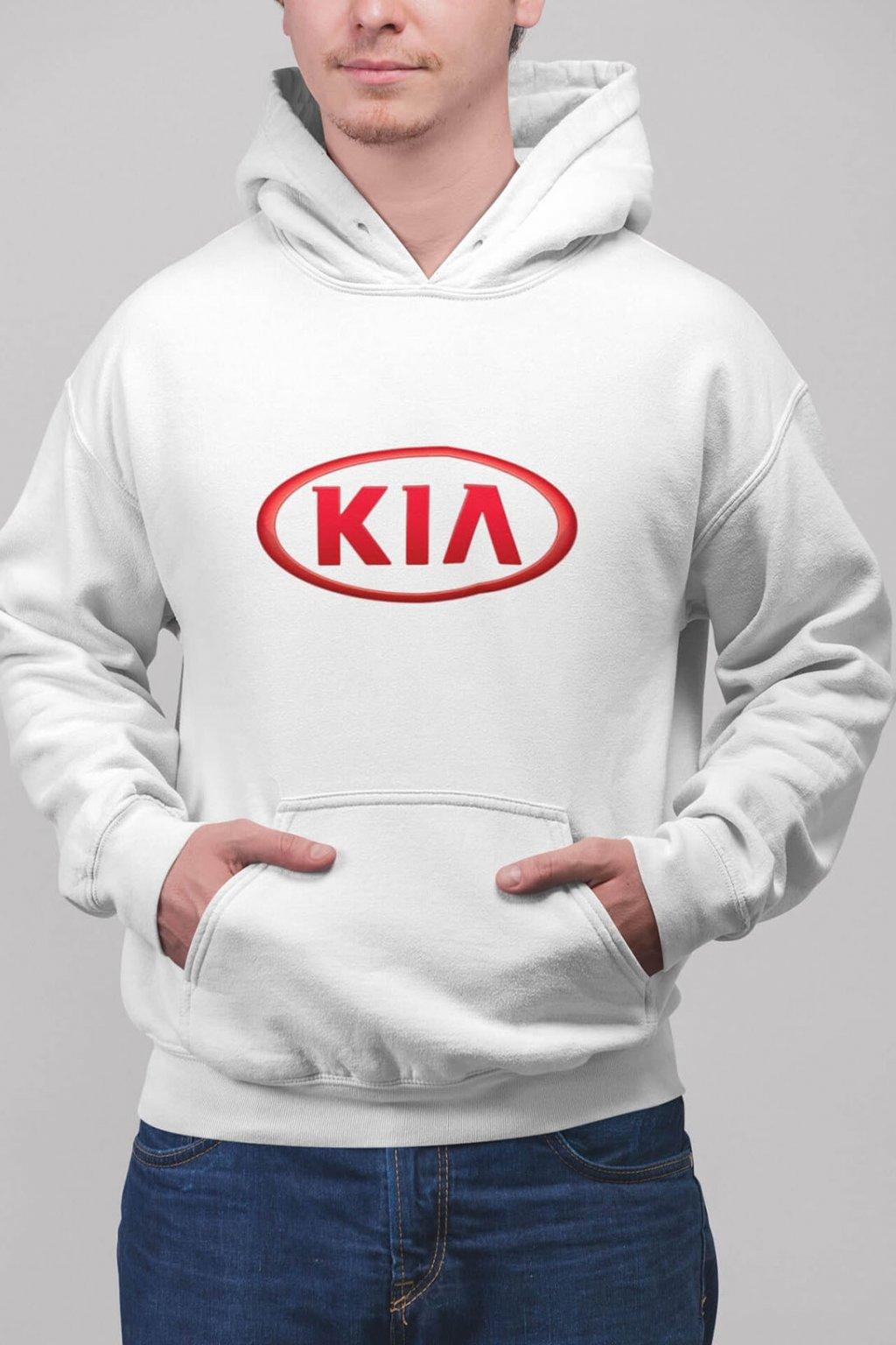 Pánska mikina s logom auta Kia