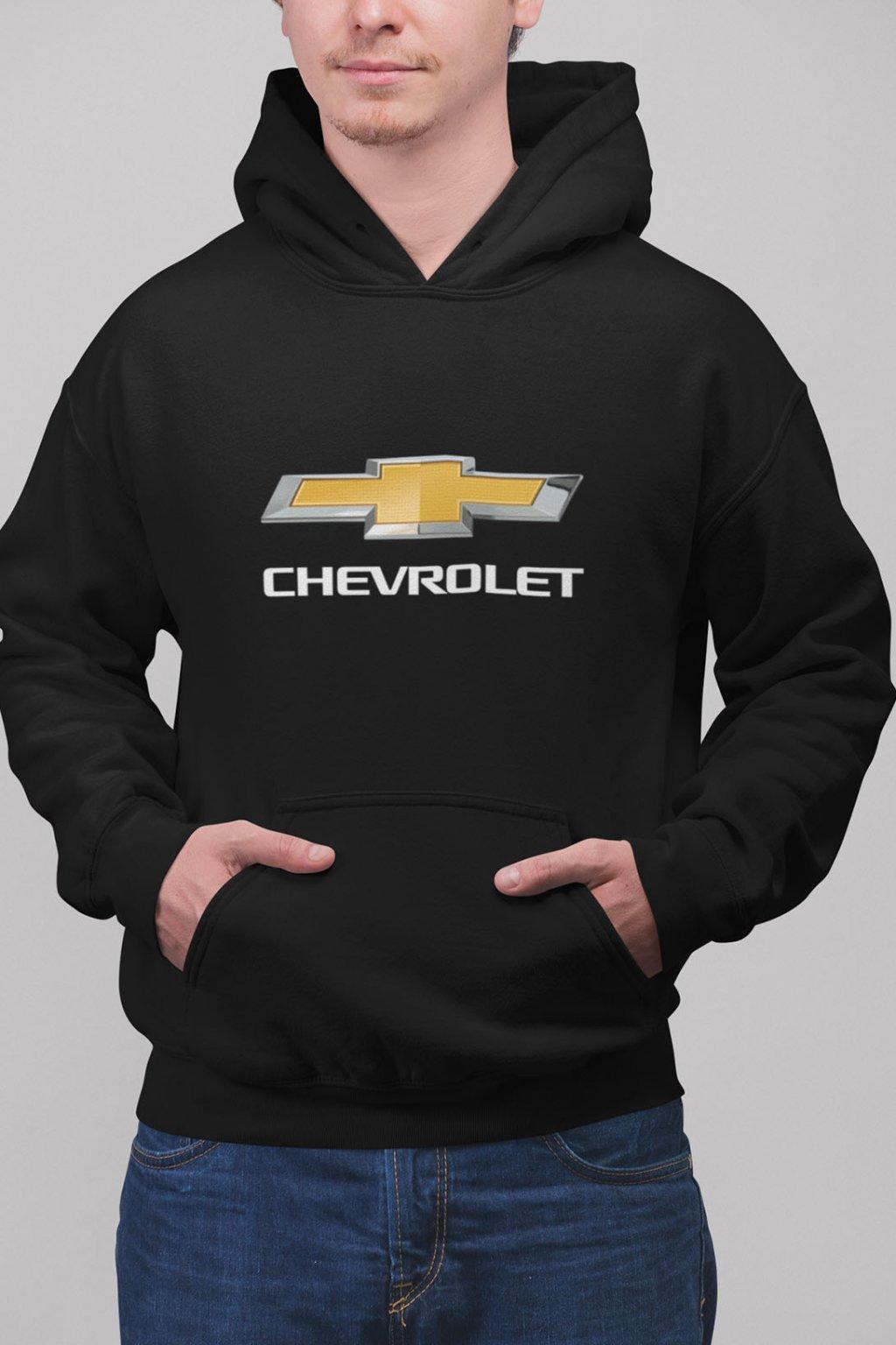 Pánska mikina s logom auta Chevrolet