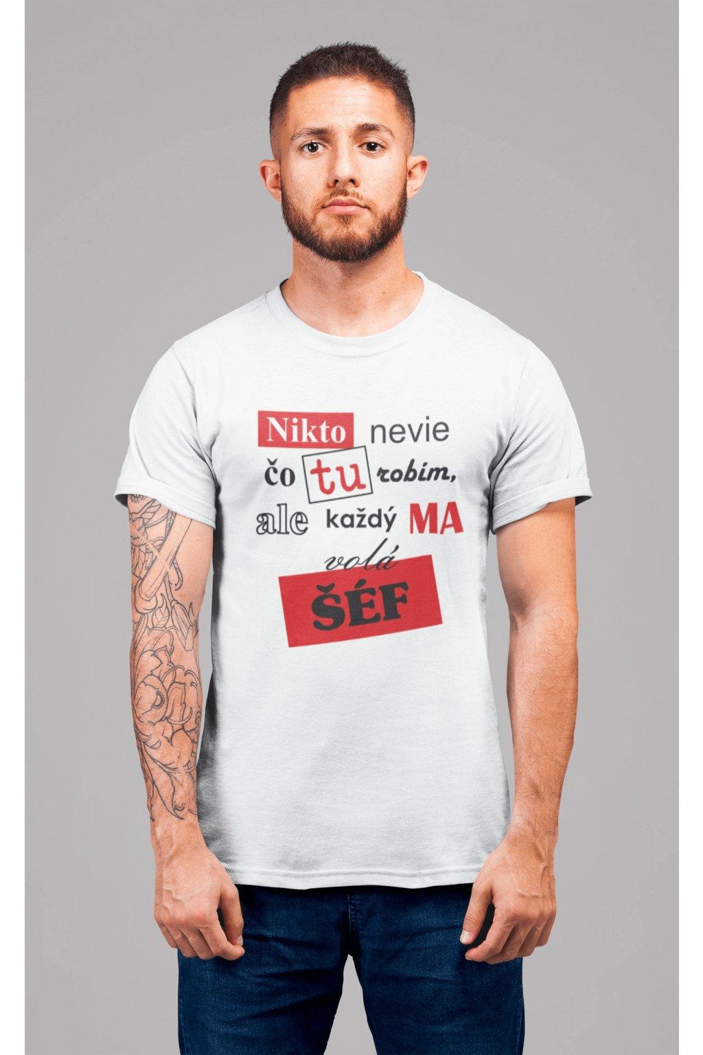 Pánske tričko Šéf