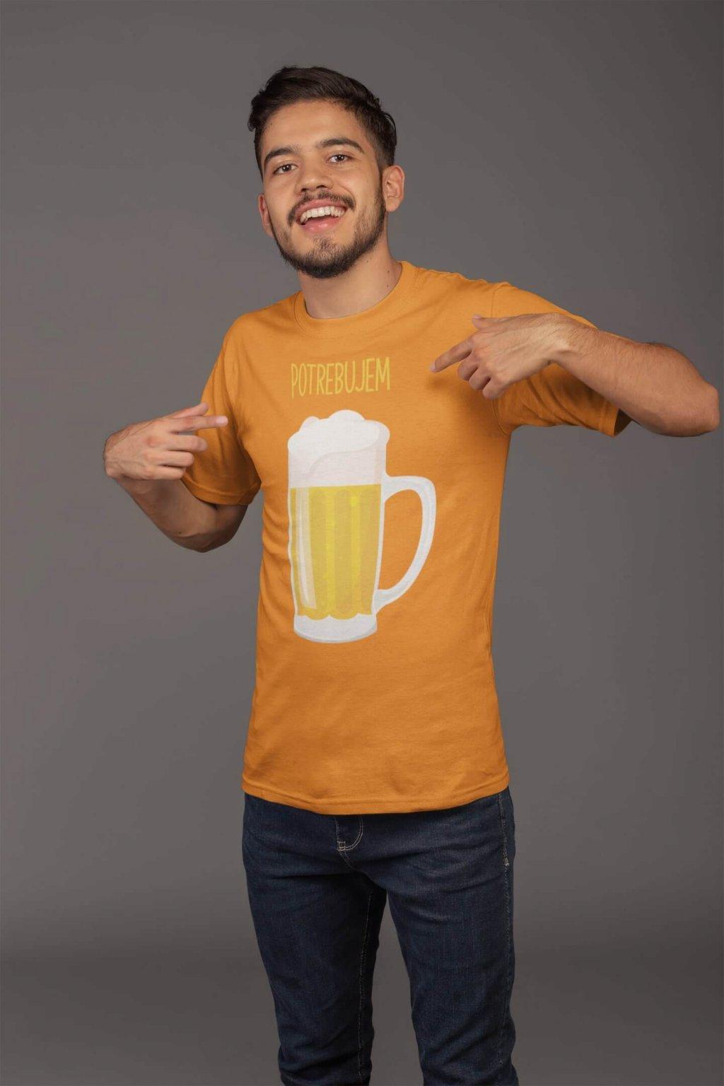 Tričko pre otca Potrebujem