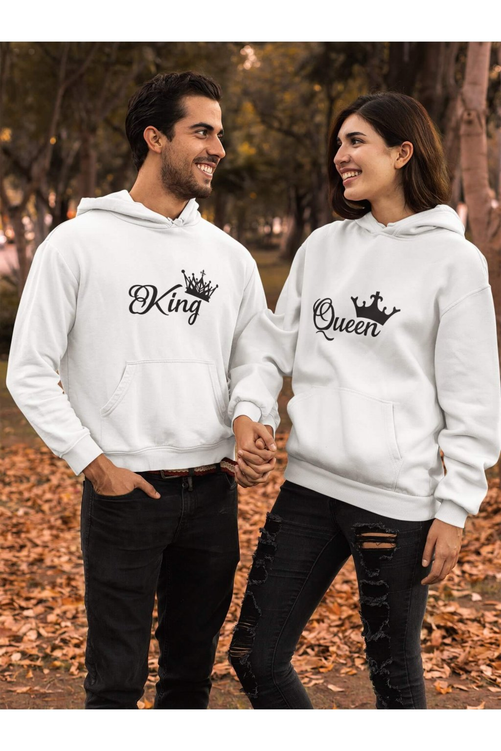 Mikina pre páry King Queen