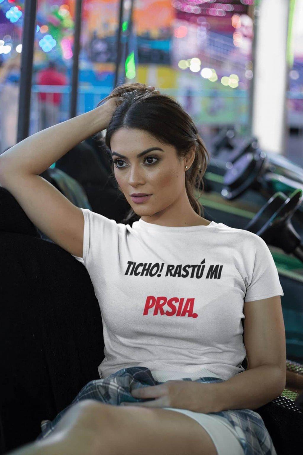 Dámske tričko Prsia