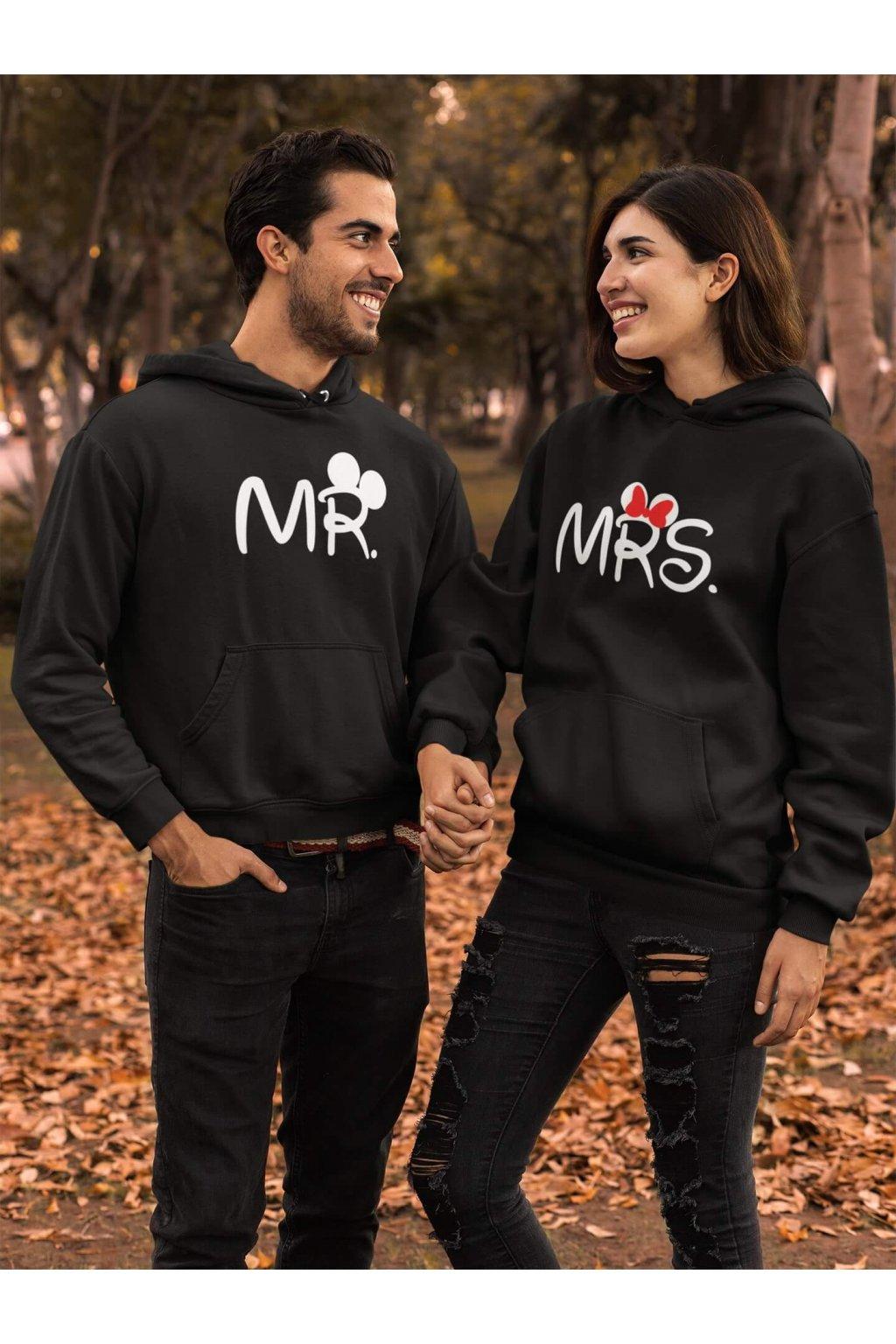 Mikina pre páry MR a MRS