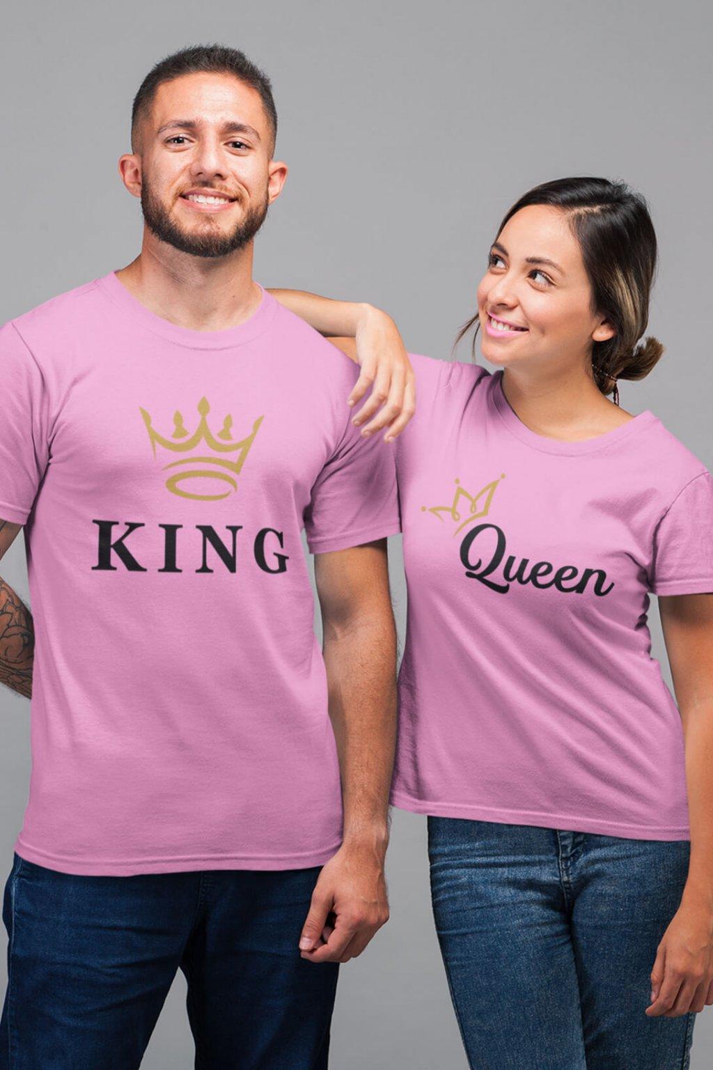 Tričko pre páry KING/QUEEN