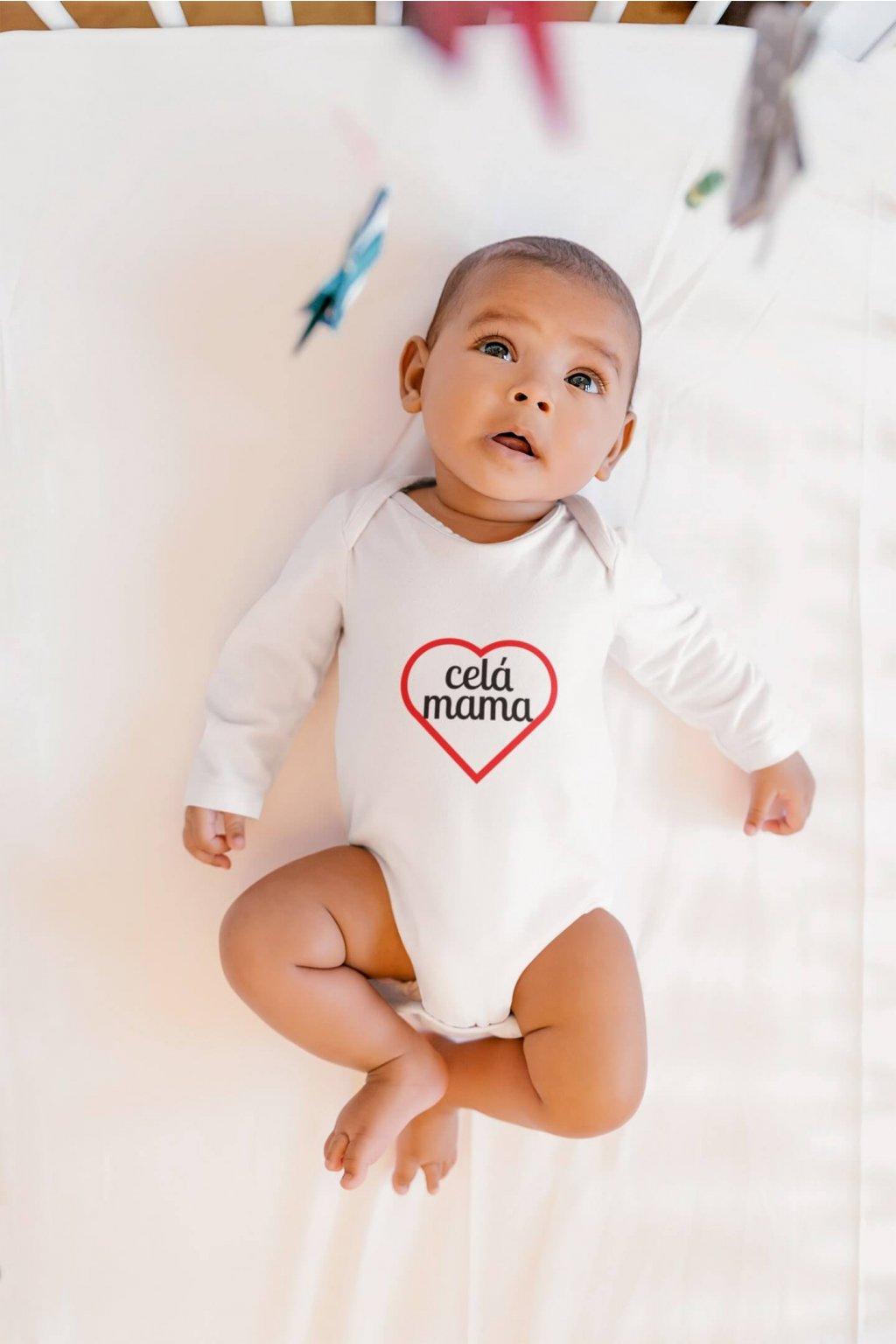 Dojčenské dievčenské body Celá mama