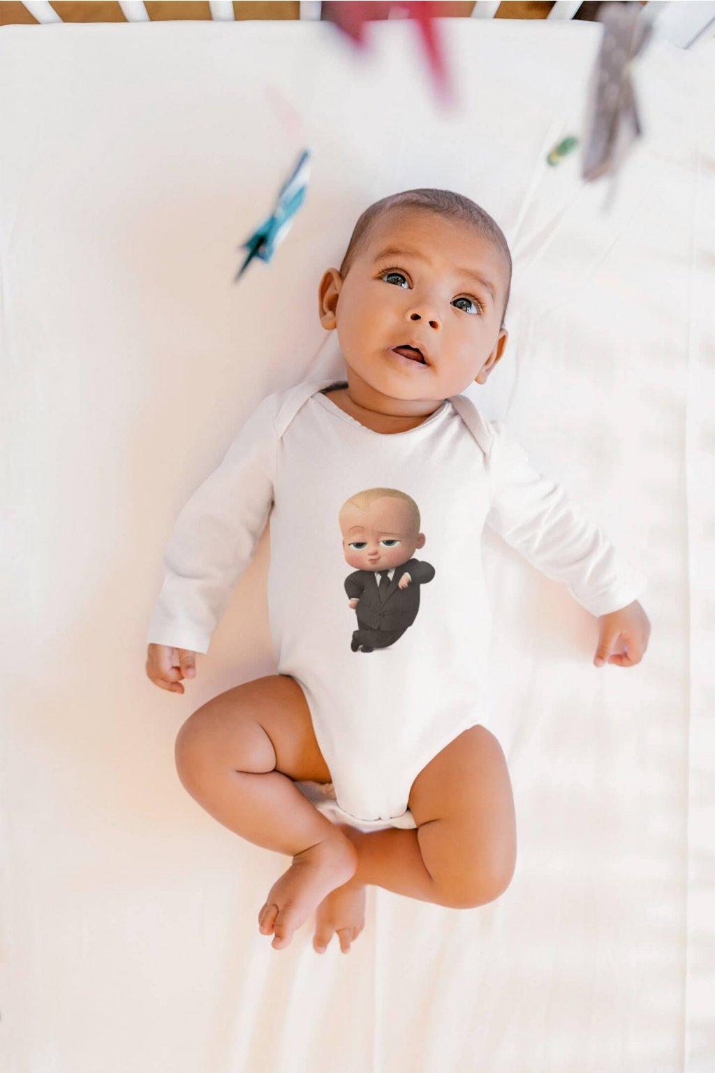 Dojčenské body Baby Šéf