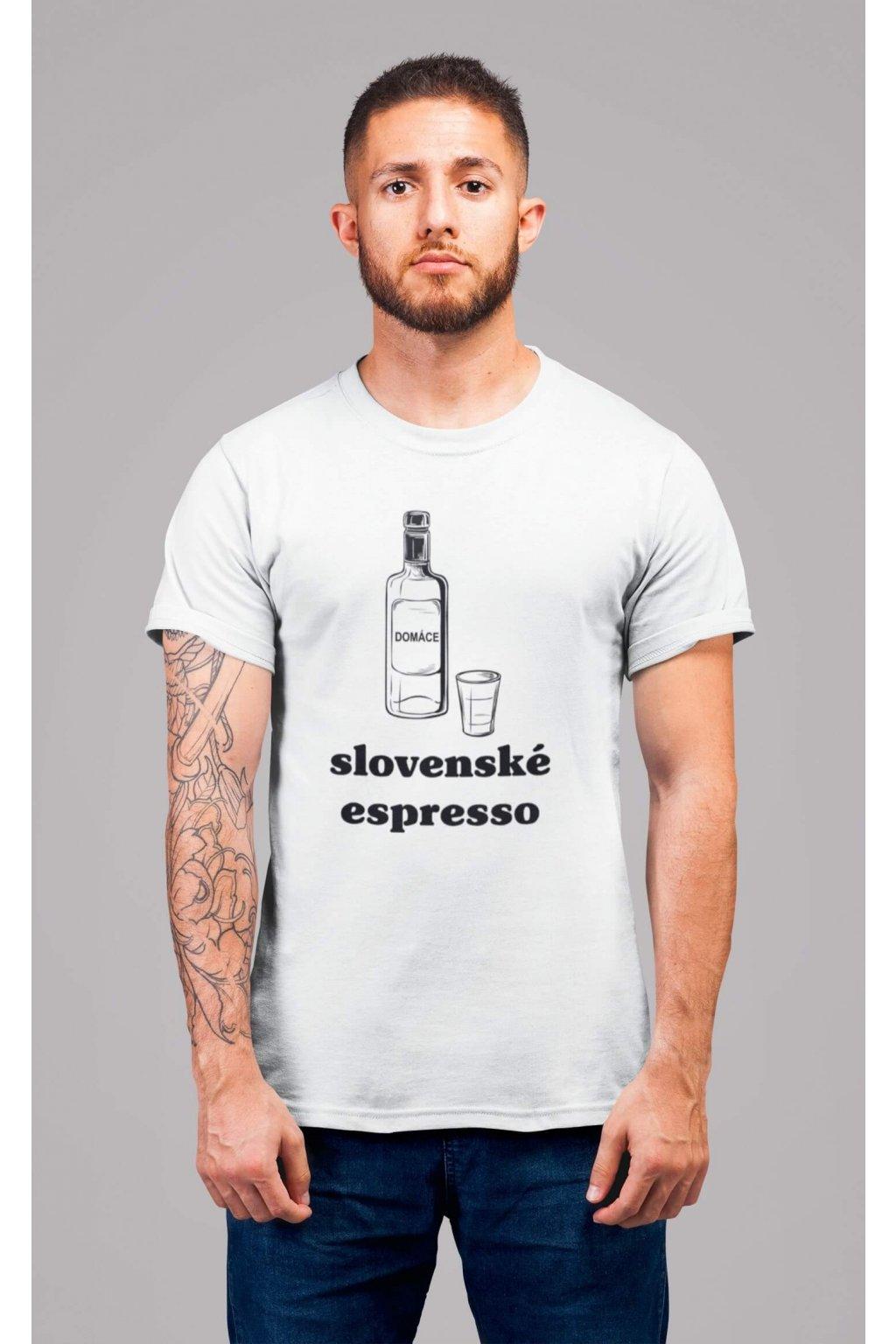 Pánske tričko Slovenské espresso