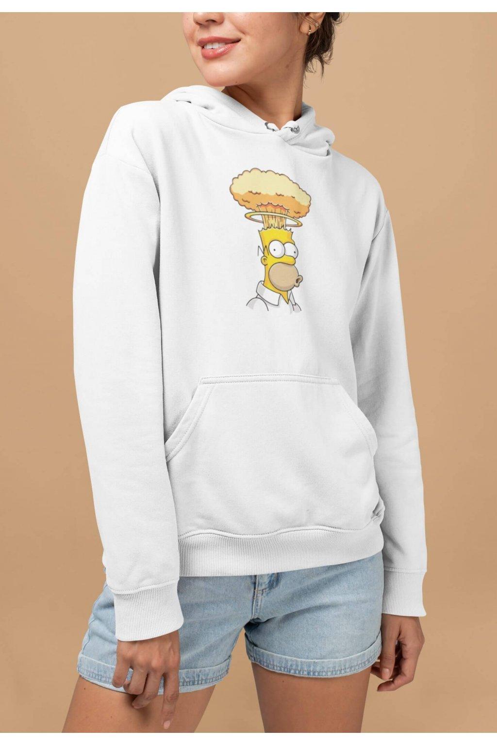 Vtipná dámska mikina Homer