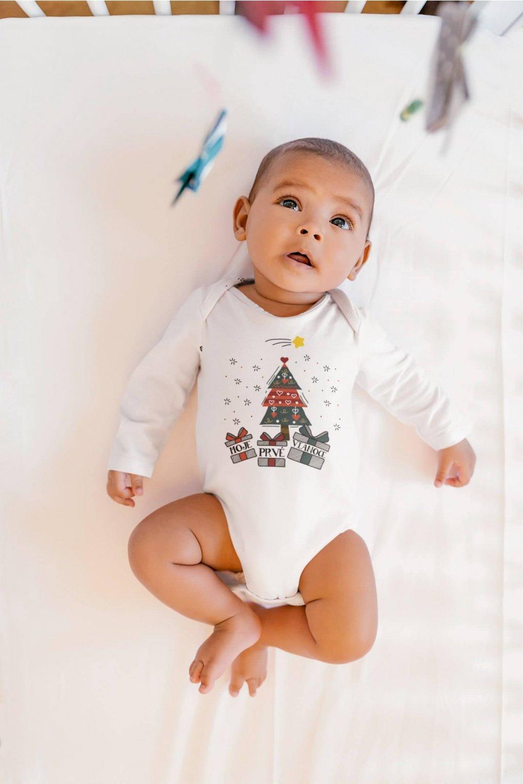 Dojčenské body Vianočný stromček
