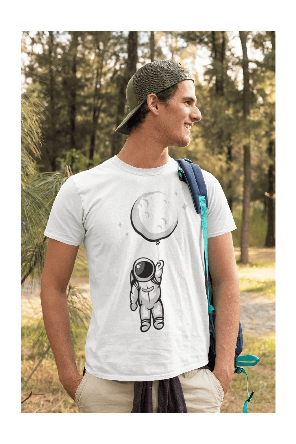 Pánske tričko Astronaut
