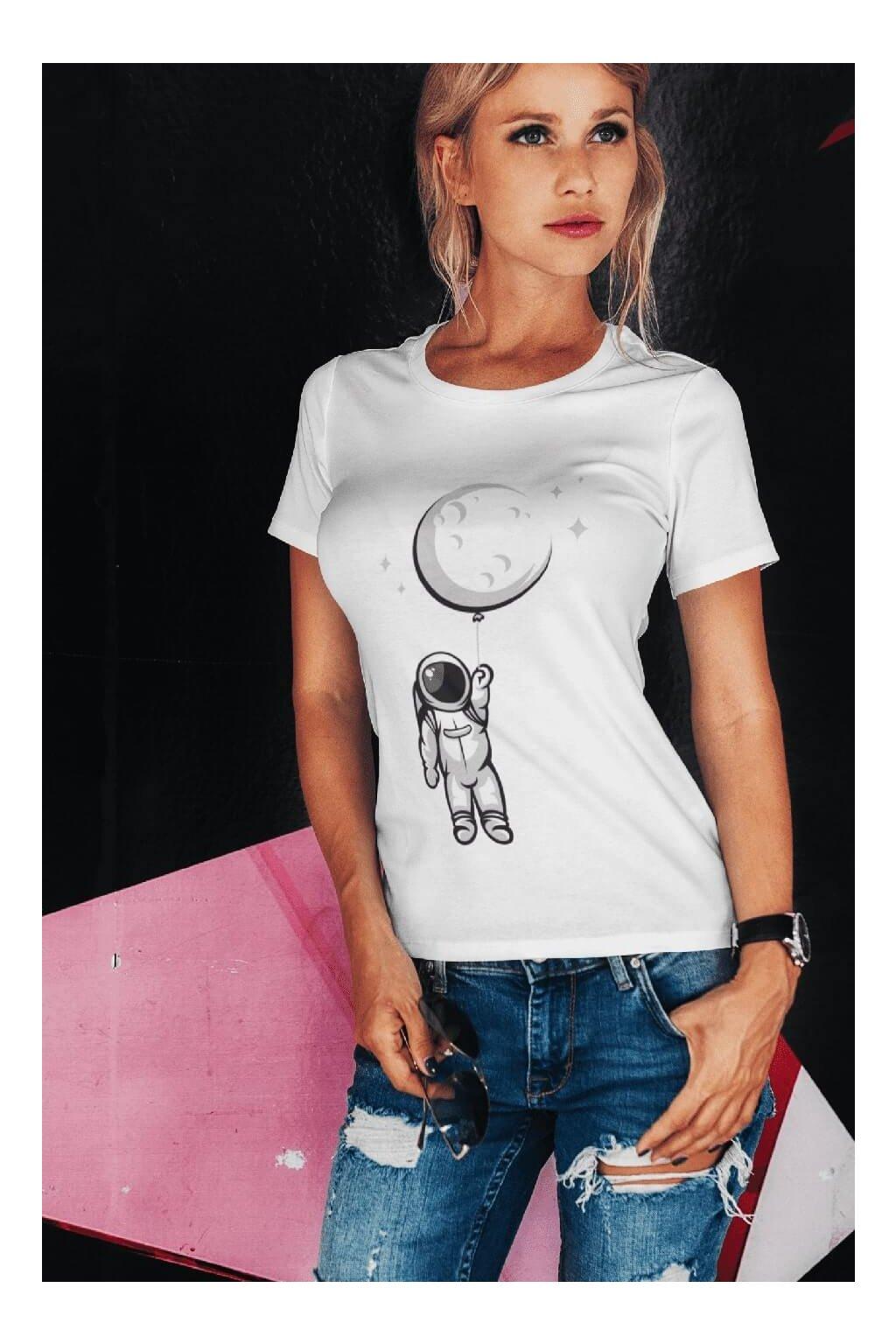 Dámske tričko Astronaut