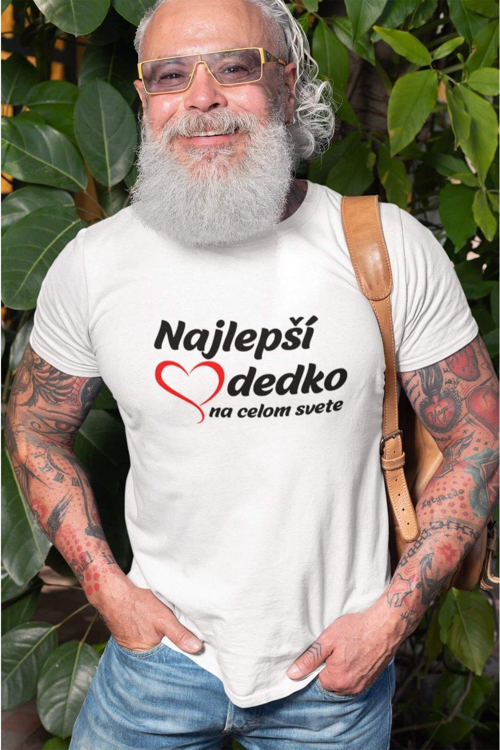 Pánske tričko Najlepší dedko