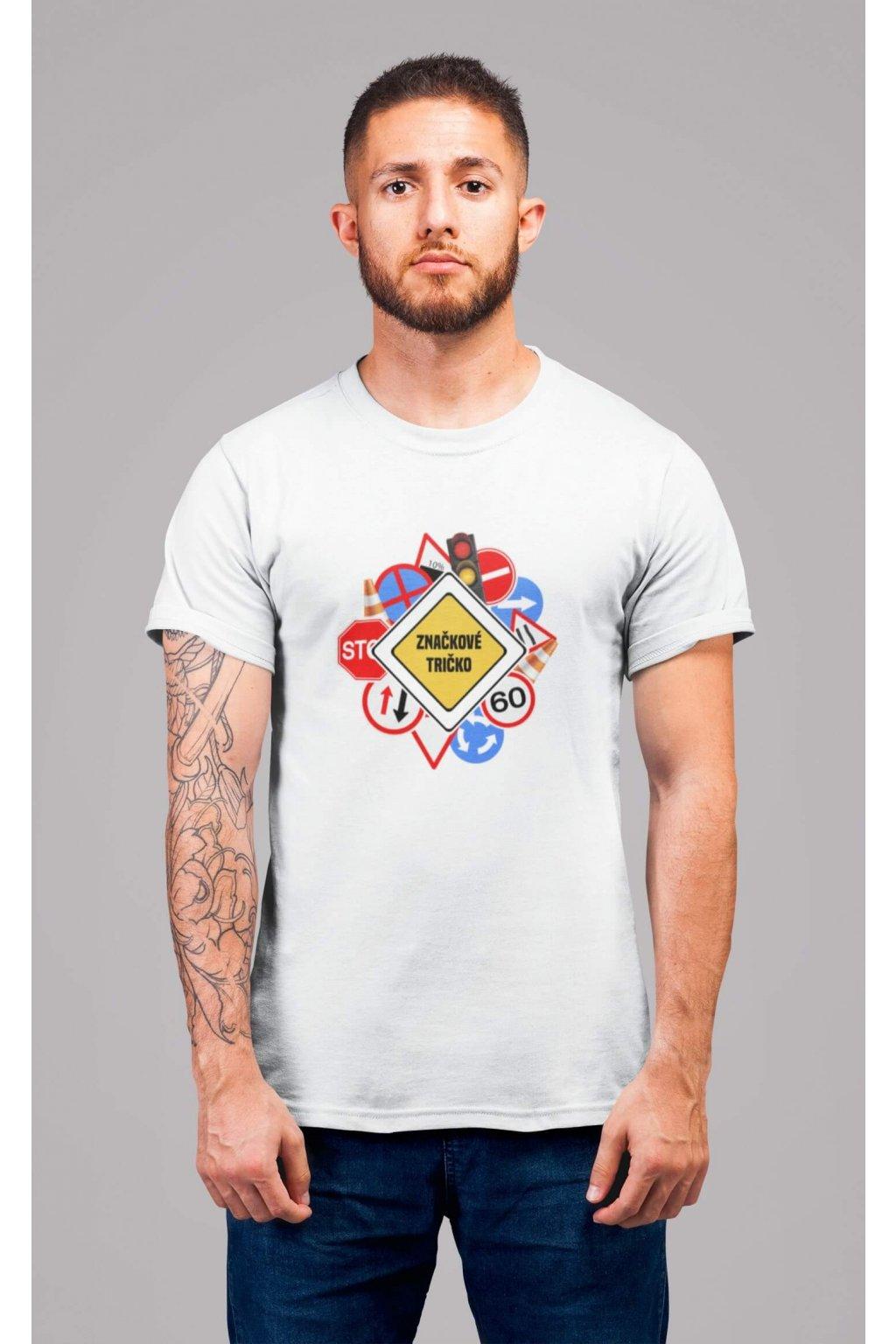 Pánske tričko Značkové tričko