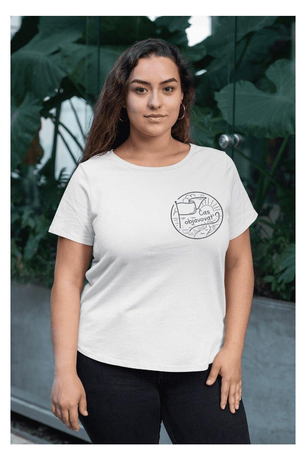 Dámske tričko Čas objavovať