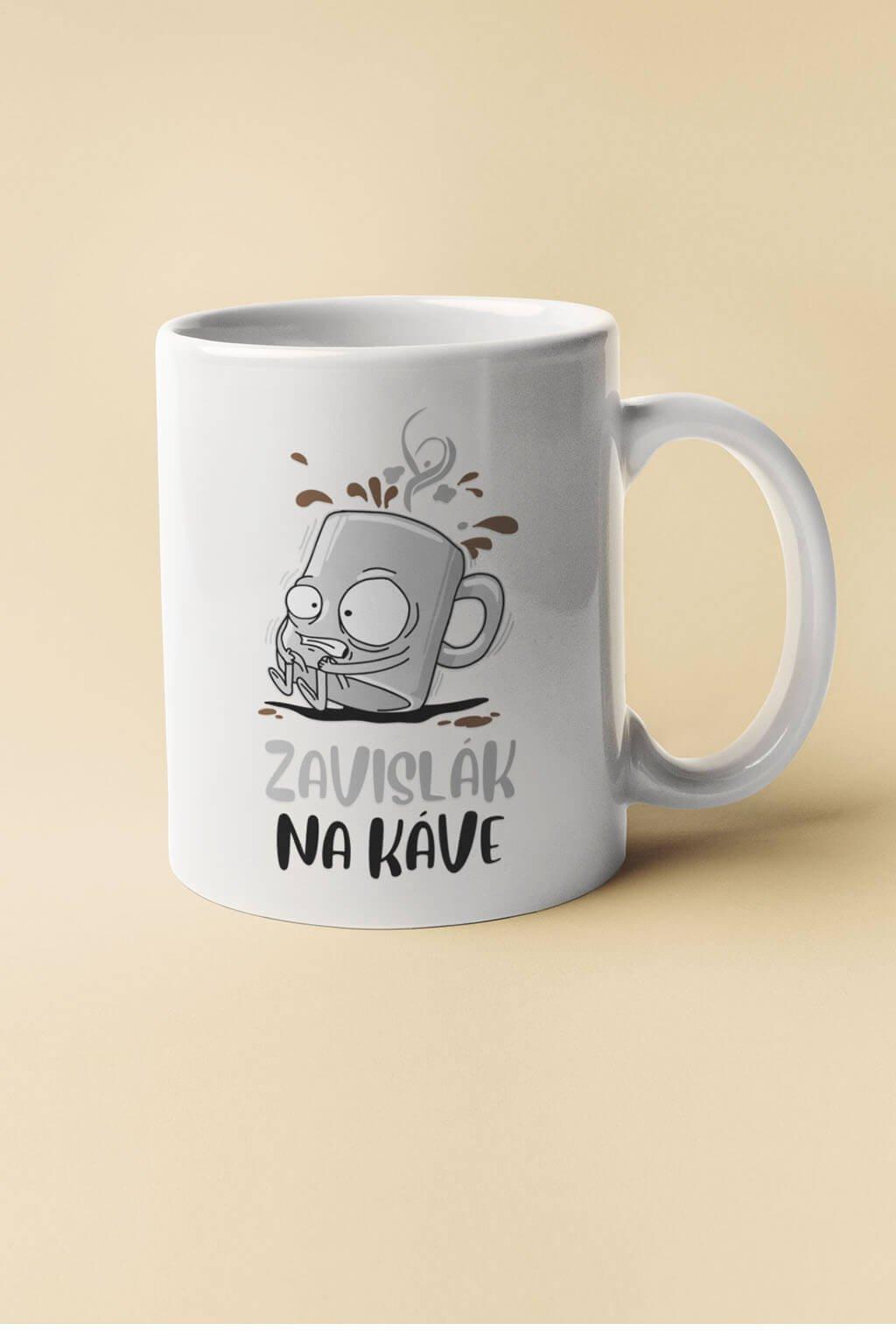 Šálka zavislák na káve
